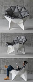 modern furniture design photos. Prachtige Loungestoel Met Meerdere Hoeken. De Witte Frame Steekt Goed Af Tegen Mooie Donkere. Product DesignWoodworkingYarnsModern Modern Furniture Design Photos