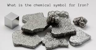 is the chemical symbol for Iron?