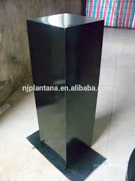 garden pedestal. Glazed Color Pedestal Garden Stand For Flowers