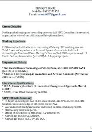 sap hr testing resume sap resume samples mesmerizing sap resume sample with  additional cover sap functional