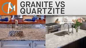 Kitchen Countertops Granite Vs Quartz Granite Vs Quartzite Countertops Marblecom Youtube