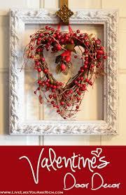 Valentine Door Decoration Ideas 157 Best Valentine Porch Ideas Images On Pinterest Valentine