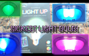 Ihip Color Changing Light Bulb The Sickest Light Bulb Ever Unboxing And Giveaway Youtube