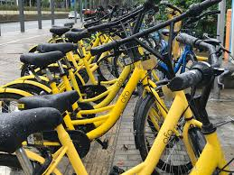 Image result for ofo yellow bike