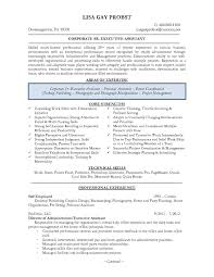 Resume Templates Executive Administrative Assistant Best Senior