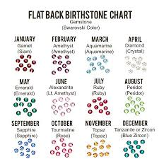 Birthstone Crystals Chart 1 8mm Flat Back Crystal Setter Punch Metal Stamp With Multi Colored Pack Of Swarovski Birthstone Crystals 240 Pieces Stamping Metal Hand Stamped Diy