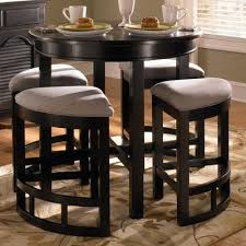 round glass pub table and chairs broyhill mirren pointe round 5 piece counter pub table set