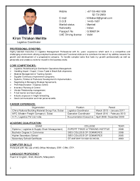... Ingenious Design Ideas Logistics Coordinator Resume 15 Pdf ...