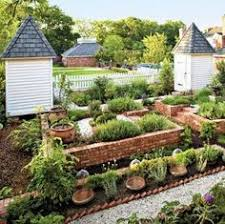Small Picture potager garden design brick edging pea gravel paths vegetable