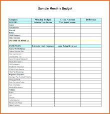Sample Personal Budget Templates 14 Sample Personal Budget Fax Coversheet