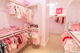 girls walk in closet. Nursery Closet Girls Walk In A