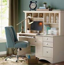 shabby chic office desk. Office Desk With Hutch Sauder Home Computer CPU Storage Shabby Chic Furniture A
