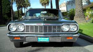 1964 Chevrolet Impala SS 409 4 spd Convertible For Sale - YouTube