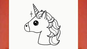 Comment Dessiner Une Licorne Kawaii Youtube Avec Licorne Dessin