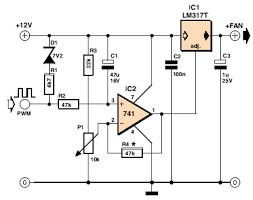 cpu fan wire diagram 12v cpu automotive wiring diagrams 3 pin fan in 4 pin socket schematic