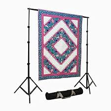 Portable Quilt Display Stand Amazon Portable Quilt Display Stand w Case 100' x 100' Fully 2