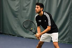 Nude male college tennis players