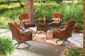 garden ridge patio furniture. Amazon.com: 5-Piece Patio Dining Set, Seats 4, Deck, Chairs, Comfort, Lounge, Bbq, Furniture, Outside, Weather, Rain, Party: Garden \u0026 Outdoor Ridge Furniture N