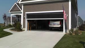 amazing garage door screens retractable