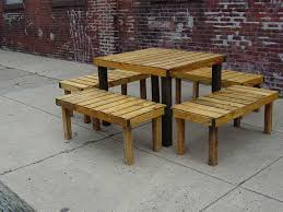 Wood Pallet Patio Furniture Designs