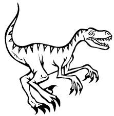 Small Picture Velociraptor Dinosaur Coloring Pages Animal Coloring Pages
