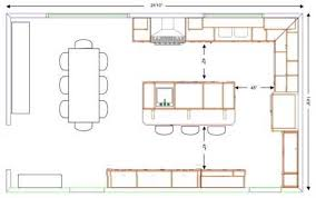 kitchen design template. template for kitchen design layout #6 - with island