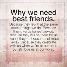 Quotes About Good Friendship Friendship Quotes About Best Good friend Why We Need it BoomSumo 15