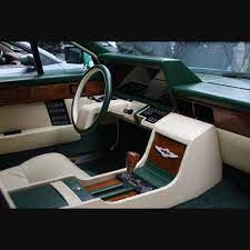 The 1976 Aston Martin Lagonda With Screens As Gauges Retrofuturism