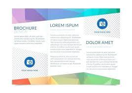 Fold Brochure Template Free Download Flyer Ideas Microsoft