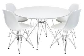 creative decoration eames dining table replica eames round table with steel legs and chairs eames dcm