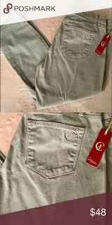 Cj By Cookie Johnson Jeans Size Chart Cj By Cookie Johnson Pants Nwot Cj By Cookie Johnson Tan