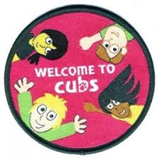 Image result for moving on badge beavers to cubs