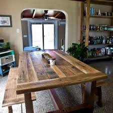 dining room tables reclaimed wood. Wonderful Wood Solid Oak Reclaimed Barn Wood Dining Room Table In Tables C