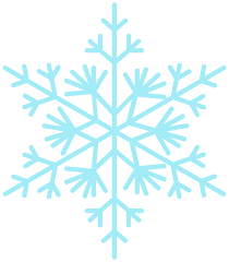 Free flocon de neige PNG with Transparent Background