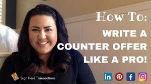 How To Write Counter Offer How To Write A Counter Offer Like A Pro