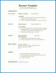 Simple First Job Resume Template Beautiful Resume Simple Job Resume