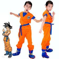 Details About Kids Boys Dragon Ball Z Goku Son Gokou Turtle Senru Costume Outfits Cosplay