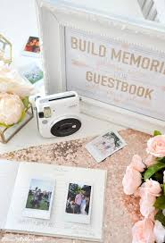 best 25 wedding gifts for guests ideas on pinterest wedding Wedding Book Ideas Pinterest photo wedding or bridal shower guest book with fuji instax instant film camera! kara's party wedding guest book ideas pinterest