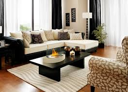 exquisite wooden polished modern coffee table with fire burner counter top