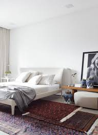 antique oriental rug in bedroom 3