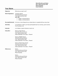 Free Resume Wizard Templates Best Of Free Professional Resume