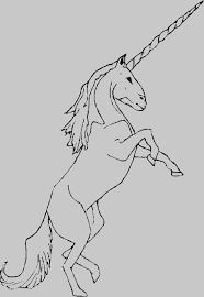 Unicorn Disegno Da Colorare Pegasus Creatura Leggendaria Unicorno