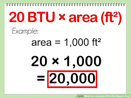 Btu Square Footage Chart How Many Sq Ft Will An 8000 Btu Air Conditioner Cool 500