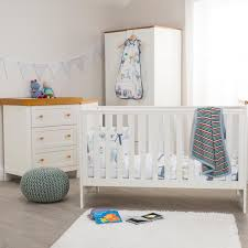 white and white furniture. Kiddicare Olivia Nursery Furniture Cot Bed Roomset Antique White And Oak