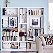 IKEA Billy bookcase: Leave an extra-wide shelf at shoulder height, so you  have space for a mirror and to display some treasured items.