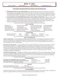 Trending Human Resources Administrative Assistant Resume Pleasing Hr