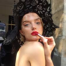 lily donaldson makeup by charlotte tilbury for paris fashion week