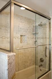 grab bar shower valve trim waterhill diverter tub spout bath glass door walk in shower tub