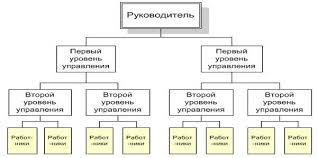 Курсовая работа Сущность организационных структур управления и  Линейная организационная структура управления