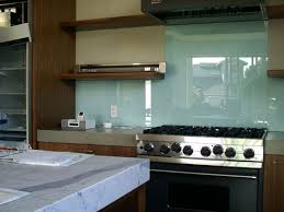 best glass tile kitchen backsplash with modern stove